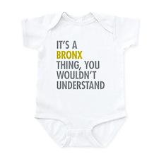 Bronx NY Thing Infant Bodysuit