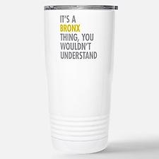 Bronx NY Thing Thermos Mug