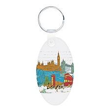 London England United Kingdom Keychains