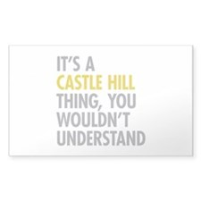 Castle Hill Bronx NY Thing Decal