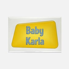 Baby Karla Rectangle Magnet