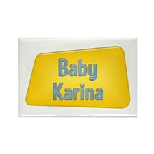 Baby Karina Rectangle Magnet