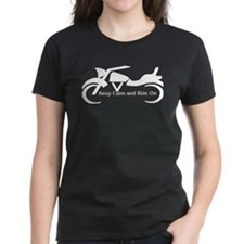 Keep Calm and Ride On - W T-Shirt