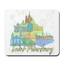 Saint Petersburg Russia Mousepad