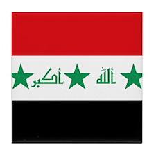 Flag of Iraq Tile Coaster
