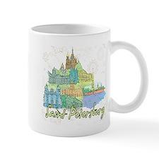 Saint Petersburg Russia Mugs