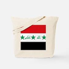 Flag of Iraq Tote Bag