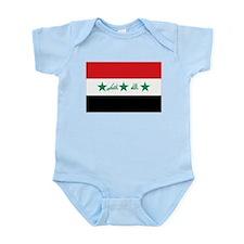 Flag of Iraq Infant Bodysuit