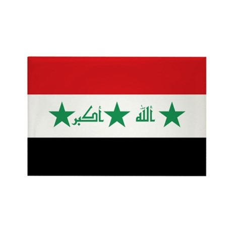 Flag of Iraq Rectangle Magnet