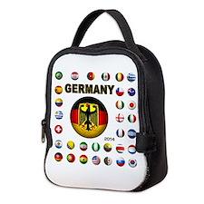 Germany soccer Neoprene Lunch Bag
