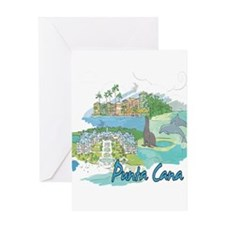 Punta Cana Dominican Republic Greeting Cards