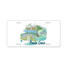 Punta Cana Dominican Republic Aluminum License Pla