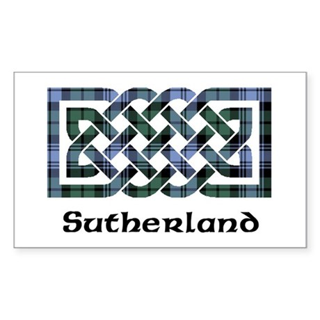 Knot - Sutherland dist. Sticker (Rectangle)