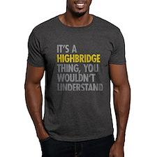 Highbridge Bronx NY Thing T-Shirt