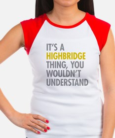 Highbridge Bronx NY Thi Women's Cap Sleeve T-Shirt