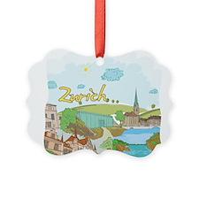 Zurich Switzerland Ornament