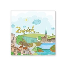 Zurich Switzerland Sticker