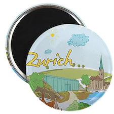 Zurich Switzerland Magnets