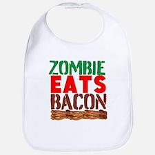 Zombie Eats Bacon Bib