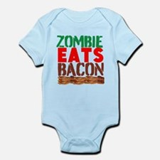 Zombie Eats Bacon Body Suit