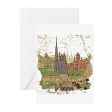 Vienna Austria Greeting Cards