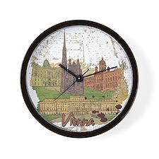 Vienna Austria Wall Clock