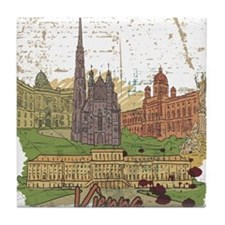 Vienna Austria Tile Coaster