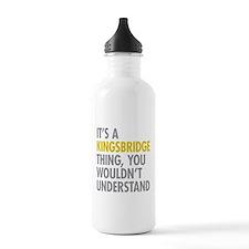Kingsbridge Bronx NY T Water Bottle