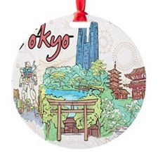 Tokyo Japan Ornament