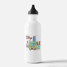 Tokyo Japan Water Bottle