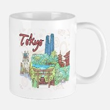 Tokyo Japan Mugs