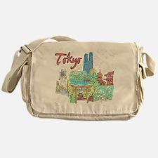 Tokyo Japan Messenger Bag
