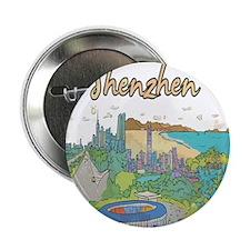 "Shenzhen China 2.25"" Button (100 pack)"