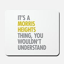 Morris Heights Bronx NY Thing Mousepad