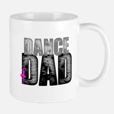 Dance Dad with Ballerina Mugs