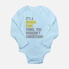 Morris Park Bronx NY T Long Sleeve Infant Bodysuit