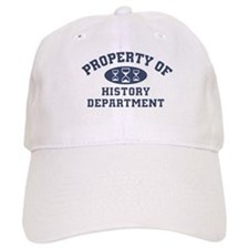 Property Of History Department Baseball Baseball Cap