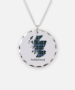 Map - Sutherland dist. Necklace
