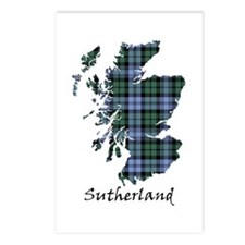 Map - Sutherland dist. Postcards (Package of 8)