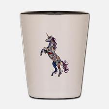 Wild Unicorn Shot Glass