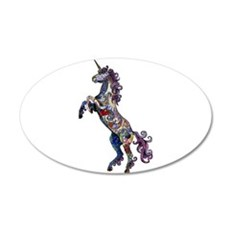 Wild Unicorn Wall Sticker