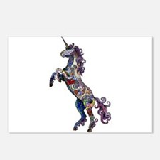Wild Unicorn Postcards (Package of 8)