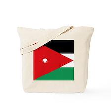 Flag of Jordan Tote Bag