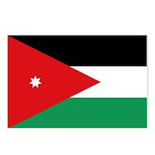 Flag of Jordan Postcards (Package of 8)