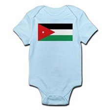 Flag of Jordan Infant Bodysuit