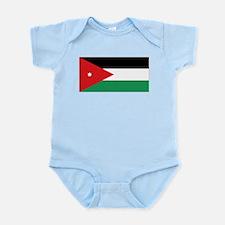 Flag of Jordan Infant Bodysuit