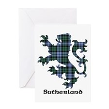 Lion - Sutherland dist. Greeting Card