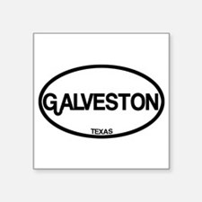 Galveston, Texas Sticker