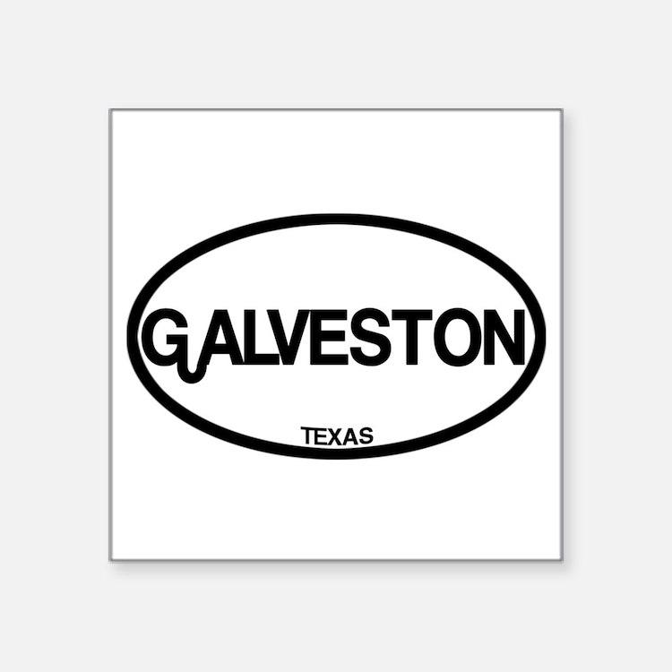 Galveston, Texas Sticker