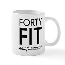 40 Fit and Fabulous! Mugs